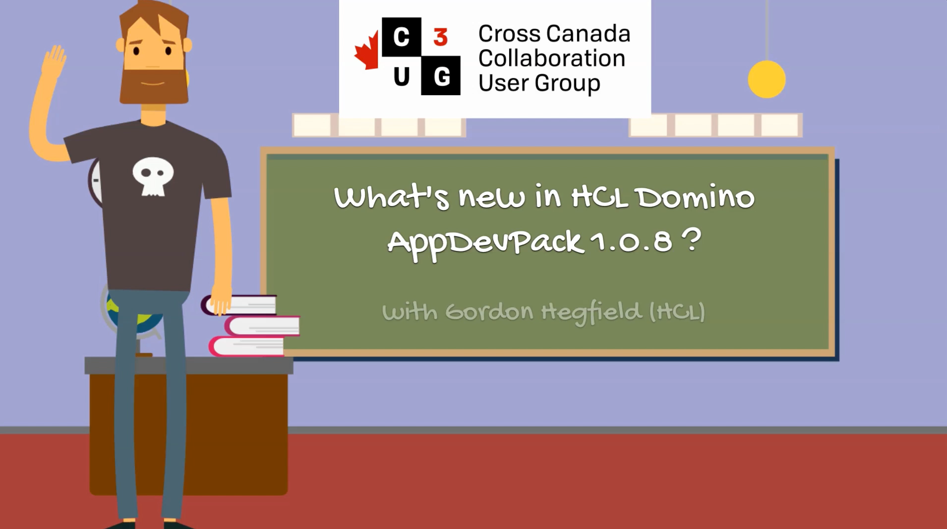 New Video from C3UG: What's new in HCL Domino AppDevPack 1.0.8 ?