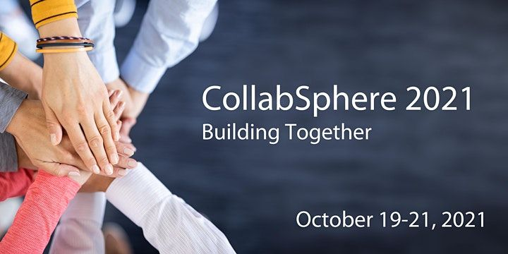 I will be speaking at Collabsphere 2021 !